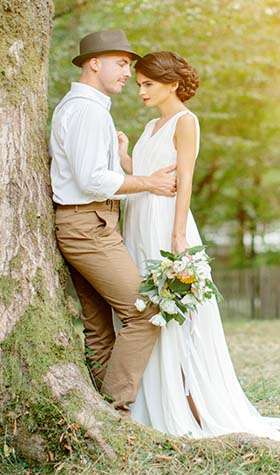 zeitloses Design 148c6 f072d Hochzeits-Outfits für jede Jahreszeit :: BREUNINGER