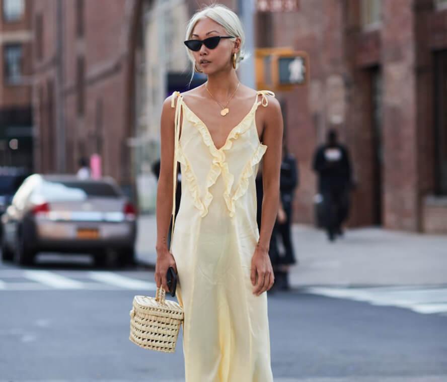 Kleid lang sommerlich elegant