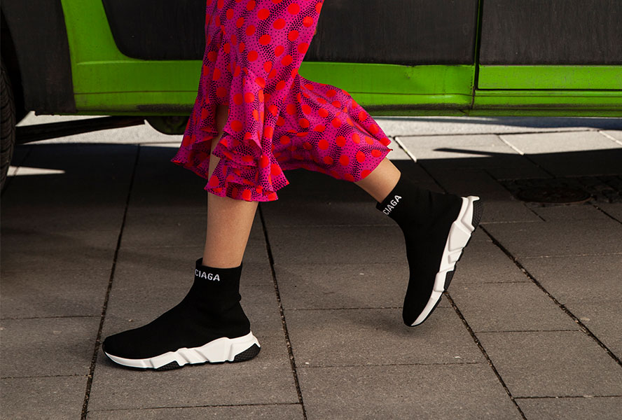 Kids' Speed Trainer Sneakers   Balenciaga