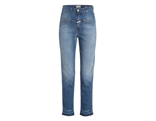 Blause Basic-Jeans