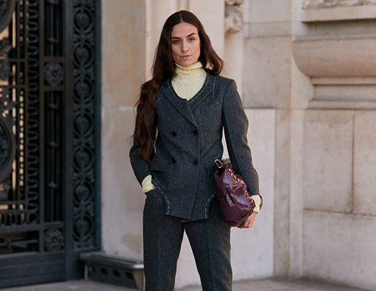 Business Dresscode - Frau in Business-Outfit